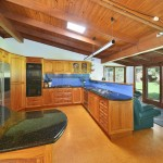 Maleny Accommodation McCarthy Lake House for rent Kitchen and TV room