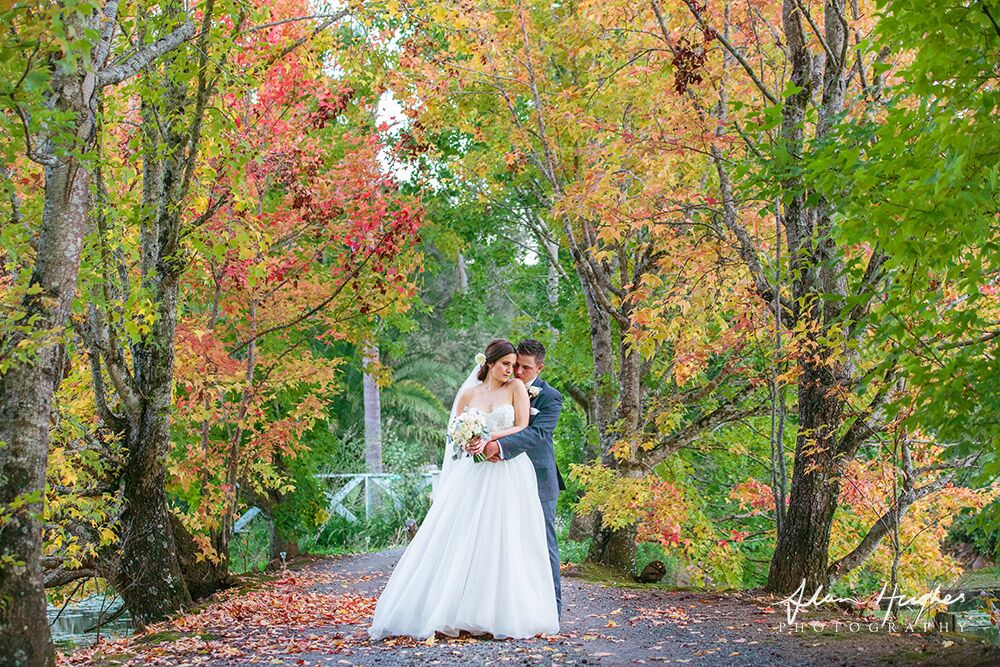 Wedding photography gardens McCarthy lake House Maleny Accommodation