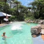 Maleny accommodation holiday house with pool